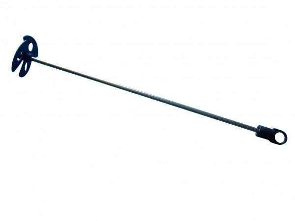 Farbrührer mit Flügel Propeller Ø 60 mm grau