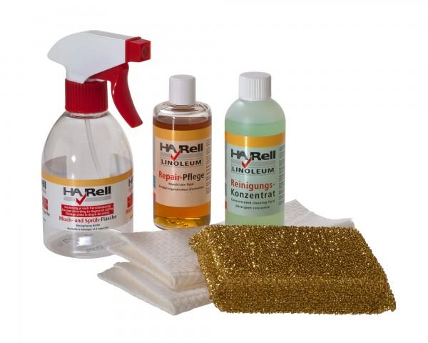 HARell Linoleum Reinigungs- und Pflegeset