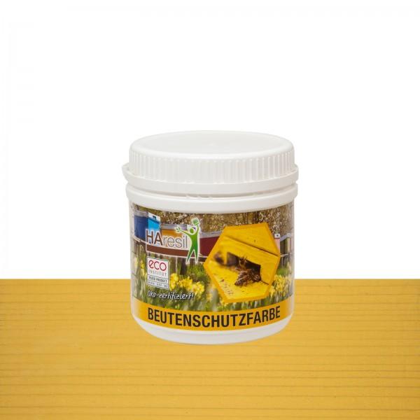 Beutenschutzfarbe gelb