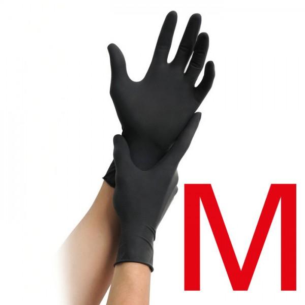 Einmalhandschuhe Nitril schwarz M