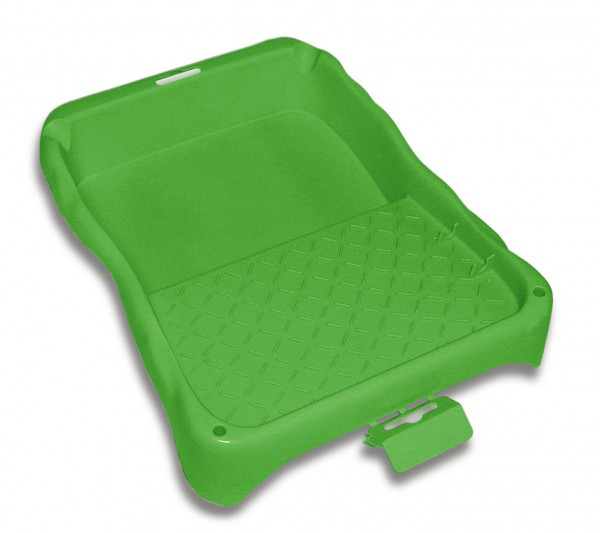 Farbwanne grün Größe 21x22 cm