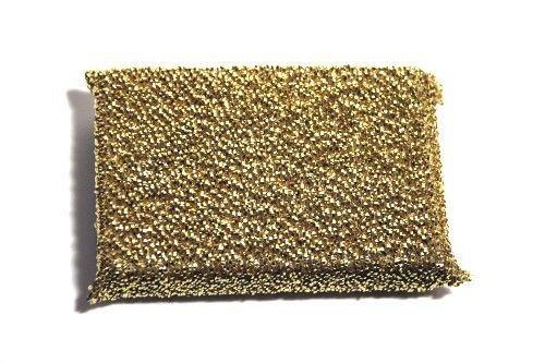 Glänzerkissen LUXUS gold Putzschwamm, Topfreiniger