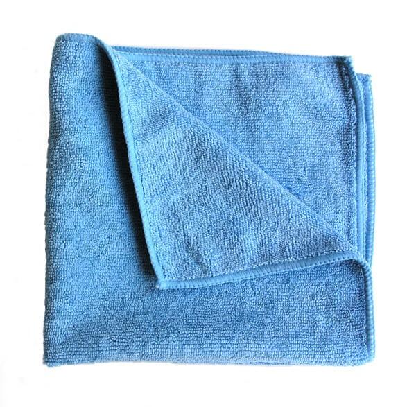 Mikrofasertuch blau Größe 40x40 cm